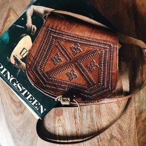 Vintage - Handmade Leather Bag